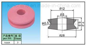 Ceramic Wire Guide Pulley (TC25-1) Textile Machine Parts Ceramic Wire Guide Pulley Roller pictures & photos