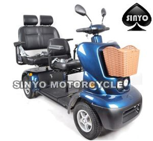 Three Seat New Design High Loading Electric Scooter pictures & photos