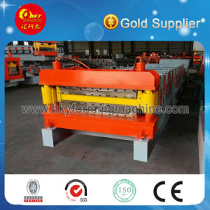 High Speed Double Layer Building Metal Roofing Roll Forming Machine pictures & photos