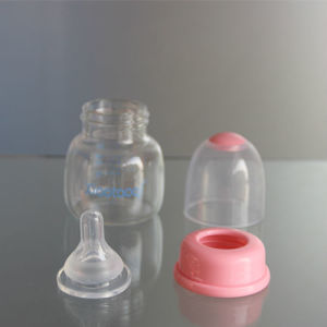 2oz 60ml PP Baby Feeder and Glass Baby Bottle pictures & photos