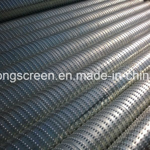 Price List Galvanized Steel 6′′ 5/8 0.75mm Slot Bridge Slot Screen/Water Well Strainer for Deep Well pictures & photos