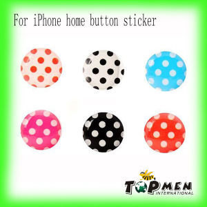 Home Button Sticker Colorful Dots for Apple iPad 3 2&1 iPhone iPod Touch