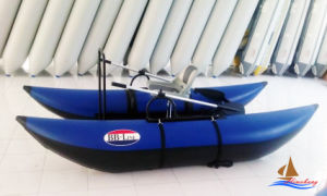 Inflatable Pontoon Boat Fly Fishing Boat pictures & photos