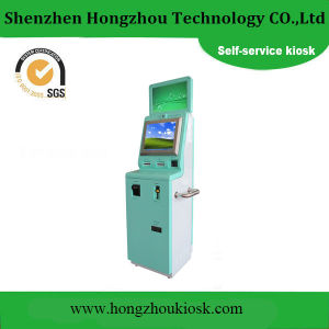 Dual Screen Kiosk in Payment Kiosks with Card Dispenser pictures & photos