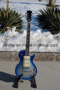 3 Pickups Blueburst Color Quality Lp Electric Guitar pictures & photos