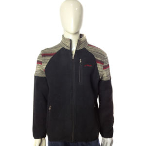 Fashion Good Quality Full Zipper Fleece Jacket pictures & photos