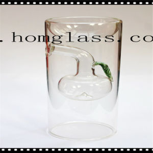 Clear Colorful Glass Candle Holder/Candlestick pictures & photos