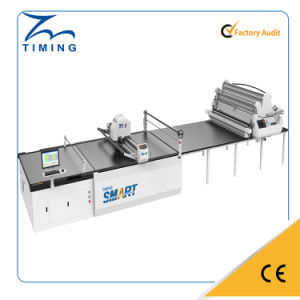 Lisa Fabric Cloth Sample Cutting Machine with Staight Knife Fabric Layer Cutting Machine for Garment Auto Cutter pictures & photos