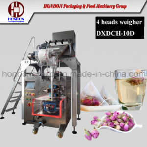 Nylon Pyramid Herb Tea Bag Packing Machine pictures & photos