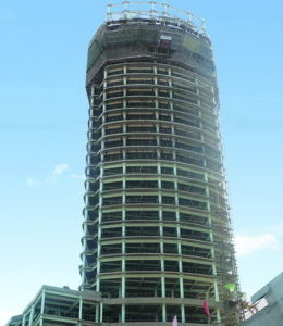 High Rise Steel Structure Building (HX12070120, have exported 200, 000 tons)