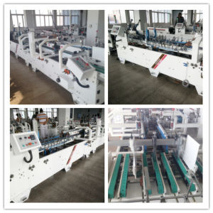High Speed Bottom-Lock Carton Automatic Folder Gluer Machine pictures & photos