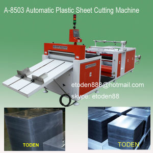 Automatic Cutting PVC Pet Boxes Sheet Machine
