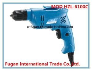 Power Tool Hand Tool 780W 10mm Electric Drill Mini Drill (HZL-6100C)