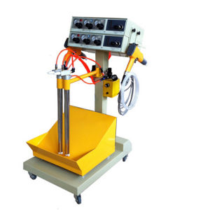 Vibration Powder Spay Machine (WX-101V) pictures & photos