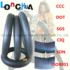 Qingdao Professional Manufacture Natural Motorcycle Tire Inner Tube (3.25-16) pictures & photos