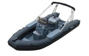 Aqualand 18feet Rigid Inflatable Motor Boat /Rib Patrol Boat (RIB540A) pictures & photos