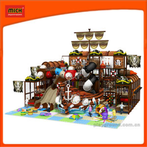 Hot Sale Pirate Ship Kids Indoor Tunnel Playground pictures & photos