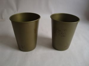Metal Drinking Cup for Bacardi pictures & photos