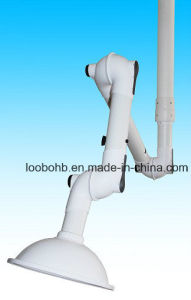 PP Wall or Ceiling Mounted Fume Sucking Arm for Dust Gas Fume Extraction System pictures & photos
