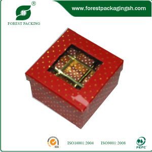Square Luxury Paper Box for Dessert pictures & photos