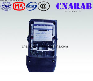 Three Phase Four Wire Mechanical Kwh Meter with Transparent Cover pictures & photos