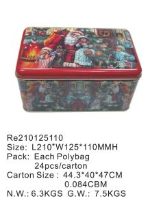 Metal Tin Box for Gift/Food/T-Shirt/Cookies/Chocolate/Candy/Biscuit pictures & photos