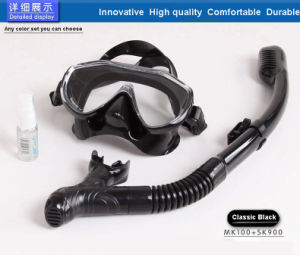Low Volume Adult Silicone Black Diving Mask Dive Mask From China (MK-101) pictures & photos