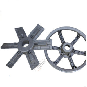 Resin Sand Iron Casting Handwheel with OEM Serice pictures & photos