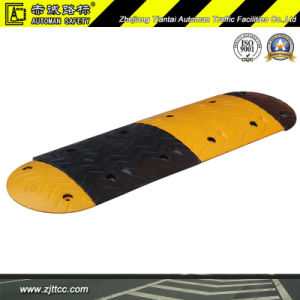 Reflective Industrial Rubber Car Speed Safety Calming Hump (CC-B04) pictures & photos