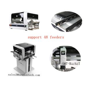 Hot Sale SMT Production Line Visual Pick and Place Machine with Rails pictures & photos