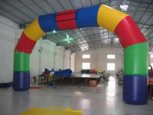 Inflatable Corlorful Rainbow Arch Advertising (K4037) pictures & photos