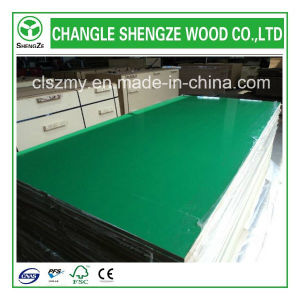 Furniture Grade 16mm Green Color UV MDF pictures & photos