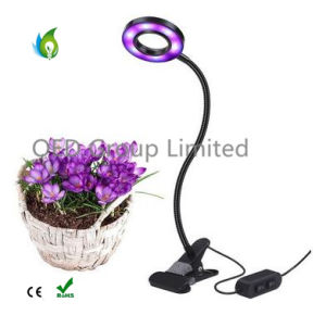 Dimmable LED Plant Grow Light with Spring Clamp Office Indoor Plant Grow Lamp pictures & photos