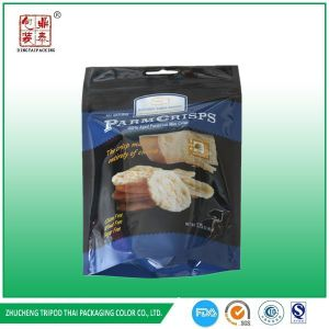 Laminated Material Stand up with Zipper Snack Food Packing Bag