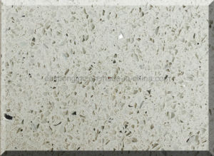 Ce Certificate & SGS Standard White Starlight Quartz Stone Slab for Countertops pictures & photos