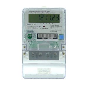 Single Phase Static Electricity Meter with Full Neutral Missing (XLE12 Type 113)
