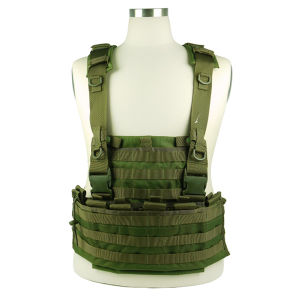Airsoft 1000D Molle Tactical Hydration Combat Vest Carrier