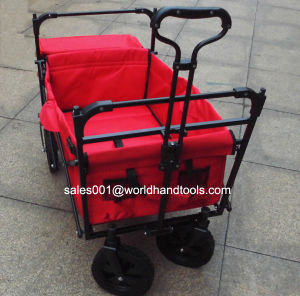 Folding Garden Cart with Canopy pictures & photos