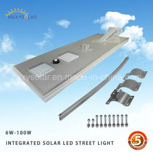High Quality IP65 Waterproof Integrated LED Solar Street Light 40W 50W 60W pictures & photos