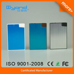 Hot Sale 2000 mAh Card Shape Portable Power Bank