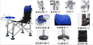 Multi-Function Stainless Steel Fishing Chair pictures & photos