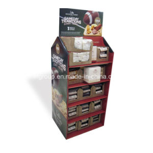 Colorful Cosmetic Cardboard Printed Paper Display pictures & photos