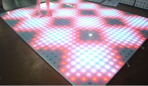 Party Wedding Disco 61*61 Cm Waterproof RGB Effect LED Dance Floor pictures & photos