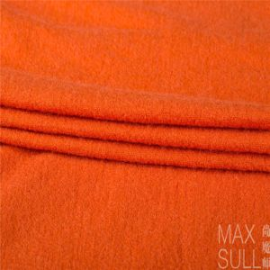Nine Kinds of Colours of Wool / Nylon Fabric in Orange pictures & photos