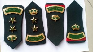 Military Army Police Metal Shoulder Rank Emblem pictures & photos