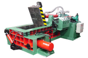 Hydraulic Scrap Baling Press Machine-- (YDF-100A) pictures & photos