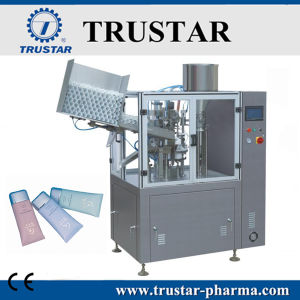 Alu Tube Filling and Sealing Machine pictures & photos