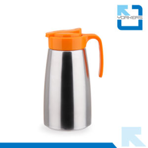 Colorful 304 Stainless Steel Cold Water Kettle & Tea Pot with Plastic Lid pictures & photos