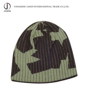 Winter Jacquard Knitted Hat Jacquard Knitted Beanie Acrylic Jacquard Toque Acrylic Knitted Hat pictures & photos