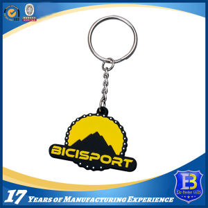 Custom Rubber PVC Keychain for Promotion pictures & photos